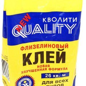Клей обойный Кволити флизелин. 200 гр. /30/