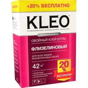 Клей обойный Kleo EXTRA 35 флиз. +20% /Франция/20/