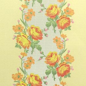 1883-3 Ситец в полосе жел. Nostalgie винил на бум. основе г/т 10*0,53м /12/ Erismann-R РЛ