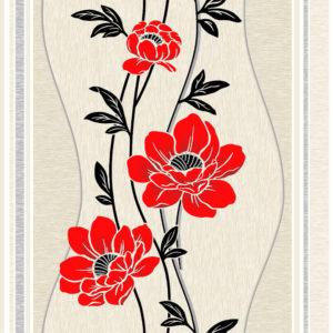 Мария  красные цветы 2С Ф1/Гомель Фокс/24