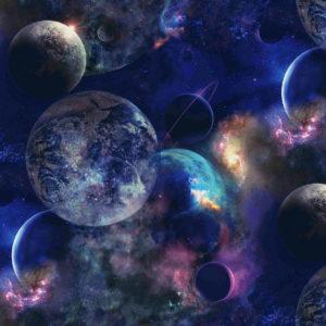 6172-4 Планеты синие