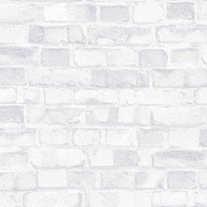 4557-6 Кирпичная стена бел. винил гор.тисн на флизе  10,05*1,06м (6) Trend ERISMANN